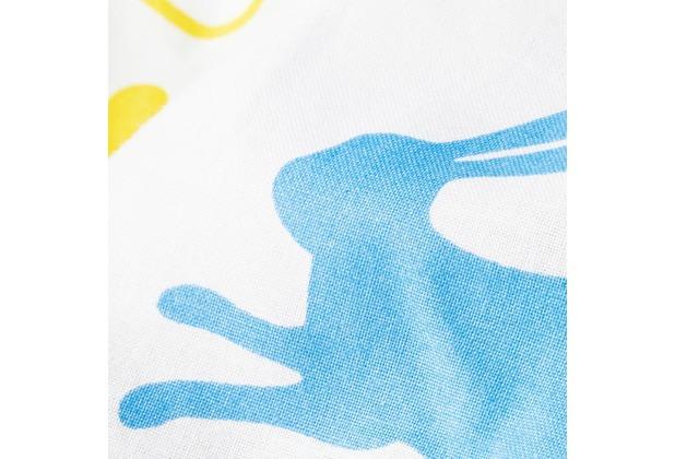 Pinolino Textile Ausstattung für Kinderbetten \'Happy Zoo\', 4-tlg.