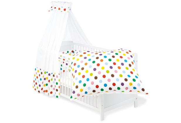 Pinolino Textile Ausstattung für Kinderbetten \'Dots\', 4-tlg.