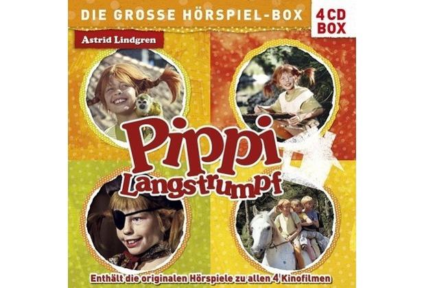 Pippi Langstrumpf - Die große Hörspiel-Box Hörspiel