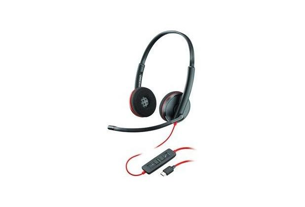 Plantronics Headset Blackwire C3220 binaural USB-C