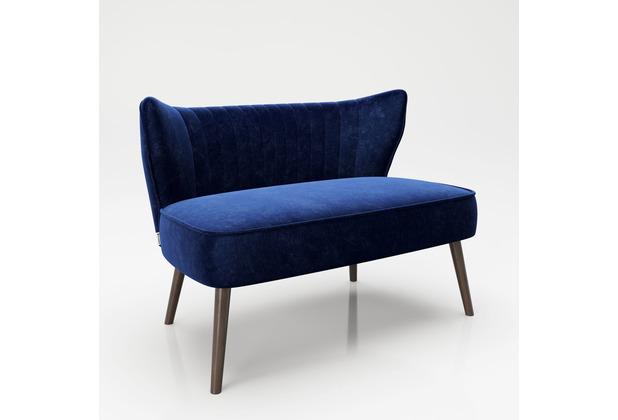 """PLAYBOY Loungesofa \""""KELLY\"""" Retro-Design blau"""