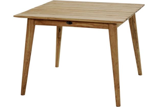 """Ploß Design-Loft-Tisch \""""Wellington\"""" Gartentisch, quadratisch"""