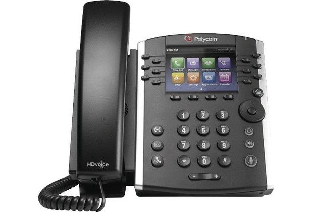 Polycom VVX 411 WW PoE, VoIP Telefon