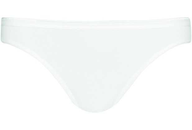 Pompadour Bikinislip Single-Jersey weiß 36 5er-Set