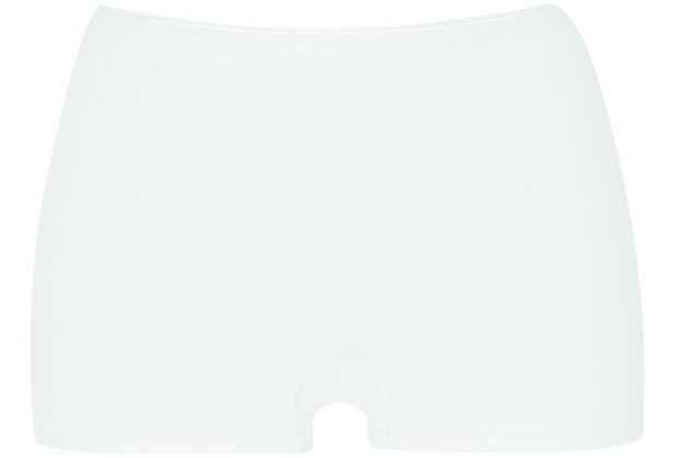 Pompadour Panty Single-Jersey weiß 36