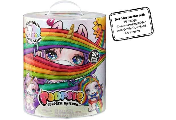Poopsie Einhorn-Überraschung - Pinkes Einhorn oder Regenbogenes Einhorn