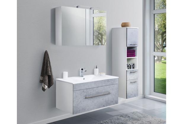 Posseik Badmöbel-Set VIVA 100 (3-teilig) beton