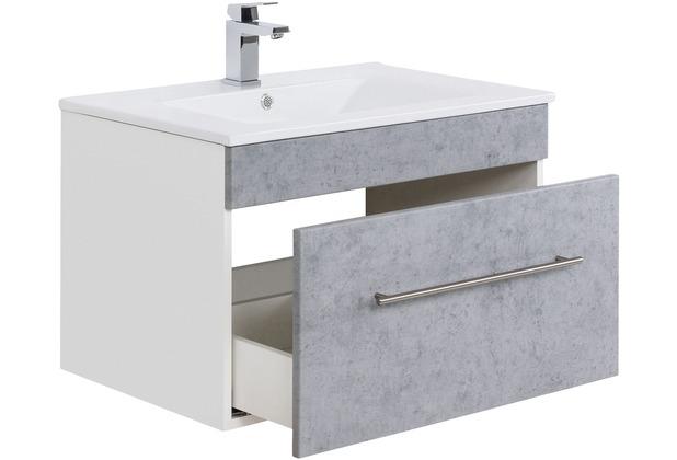 Posseik Badmöbel-Set VIVA 75 (5-teilig) beton