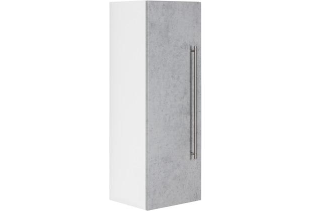 Posseik Hochschrank VIVA 100cm mit Tür beton