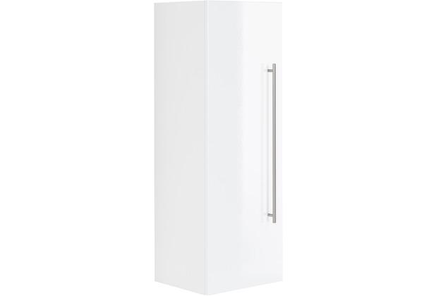 Posseik Hochschrank VIVA 100cm mit Tür weiß hochglanz