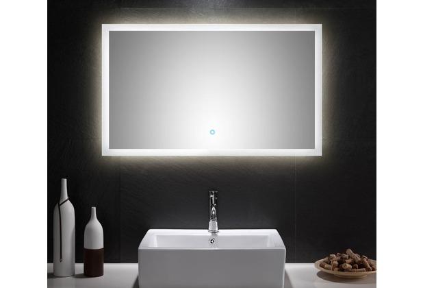Posseik LED Spiegel 100x60 cm mit Touch Bedienung