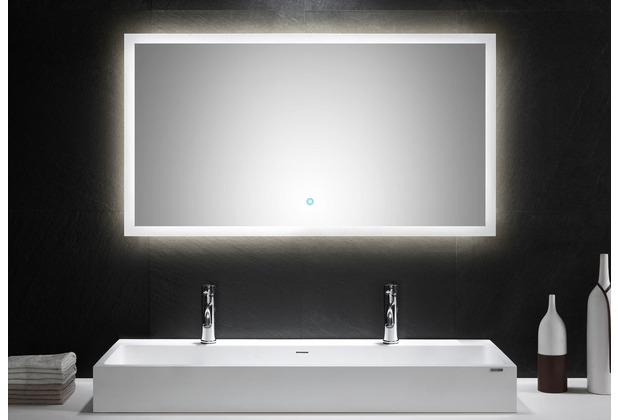 Posseik LED Spiegel 120x65 cm mit Touch Bedienung