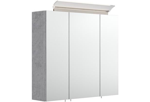 Posseik Spiegelschrank 70 inklusive LED-Acrylglaslampe beton