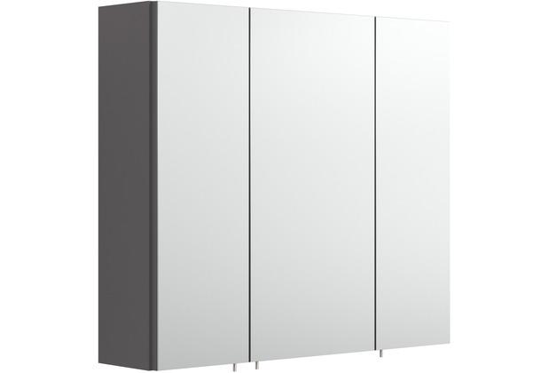 Posseik Spiegelschrank multi-use anthrazit 70 x 62 x 17