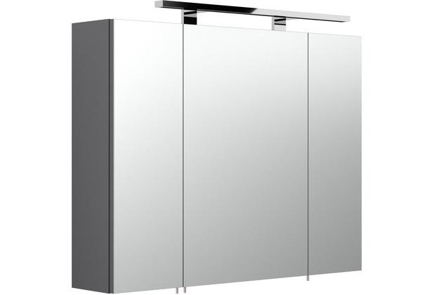 Posseik Spiegelschrank multi-use anthrazit 80 x 68 x 20