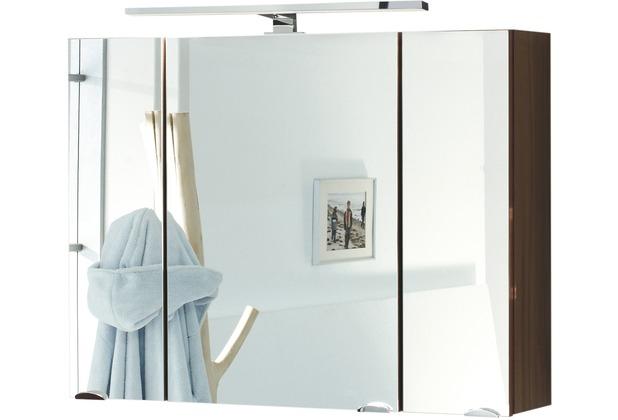 Posseik Spiegelschrank multi-use walnuss