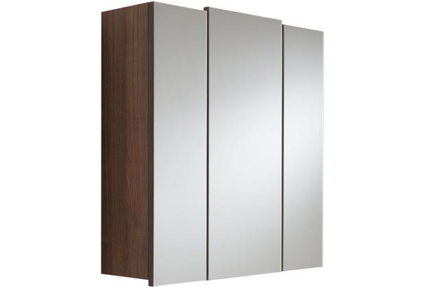 Posseik Spiegelschrank multi-use walnuss 70 x 62 x 17