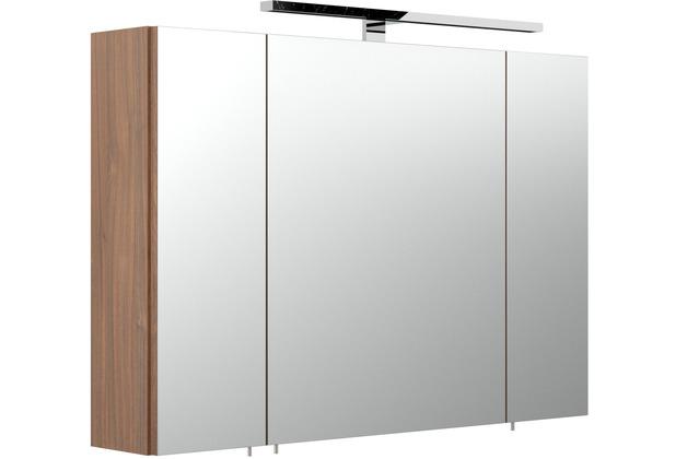 Posseik Spiegelschrank multi-use walnuss 90 x 68 x 20,5