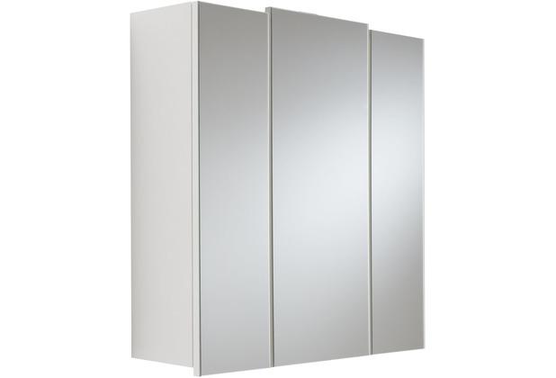 Posseik Spiegelschrank multi-use weiss 70 x 62 x 17