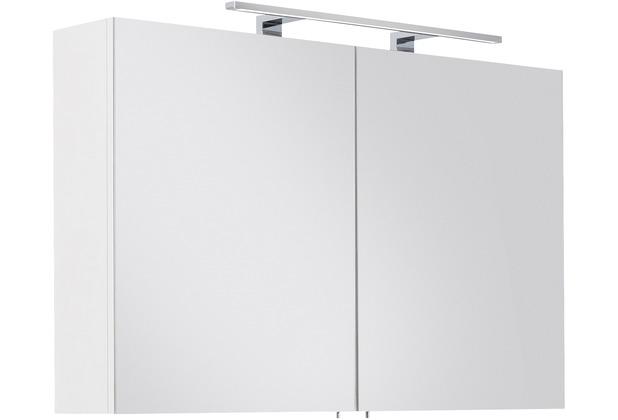 Posseik Spiegelschrank VIVA 100 weiss inkl. LED-Lampe