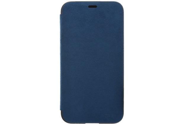 Power Support Ultrasuede Flip Case  Apple iPhone X  blau