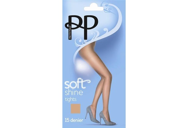 Pretty Polly Everyday Plus 15D Soft Shine Tights Barely Black ML