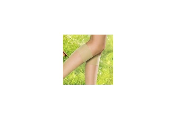 Pretty Polly Naturals 8D Knee Highs 2 Paar BarelyThere - OS