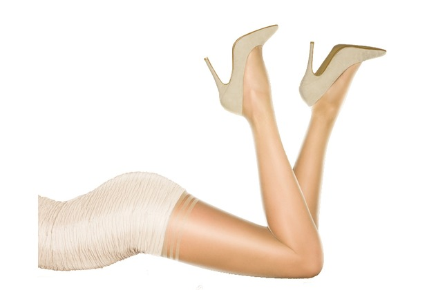 Pretty Polly Nylons 10D Secret Slimmer Tights Sherry - SM