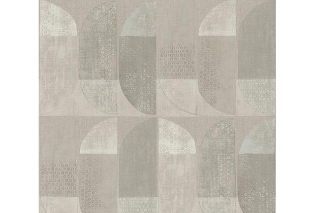 Private Walls Vliestapete Geo Nordic geometrische Tapete beige creme braun 375314 10,05 m x 0,53 m