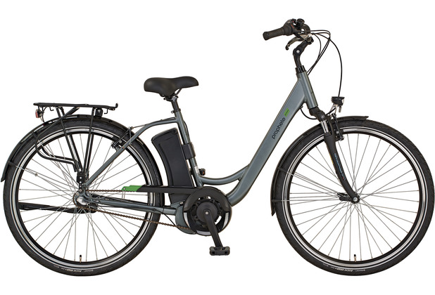 "Prophete eCity CITY E-BIKE 2020 28"" Damen silber Wave 48 cm"