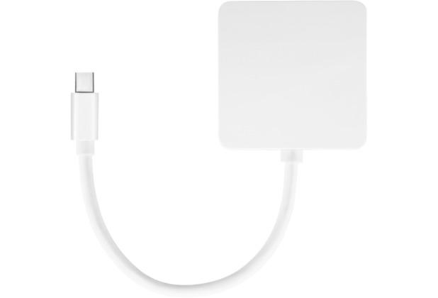 PureLink MiniDP / DVI+HDMI+DP Adapter - iSerie weiß