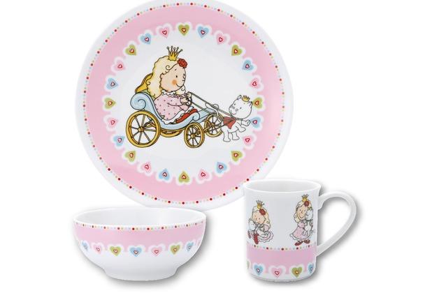 PURESIGNS Kindergeschirr-Set Prinzessin NELIA 3tlg. aus Porzellan