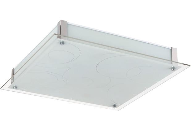 Rabalux Dena LED Deckenleuchte 36W weiß (gemustertas Chloe without crystals (2874)/ chrom