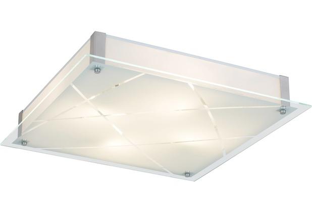 Rabalux Devin LED Deckenleuchte 12W weiß (gemustertas Phaedra (3698)/ chrom