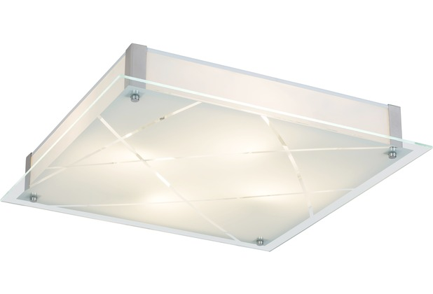 Rabalux Devin LED Deckenleuchte 36W weiß (gemustertas Phaedra (3698)/ chrom