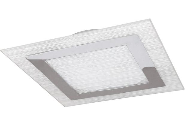 Rabalux Stripe 2er Deckenleuchte eckig chrom/ weiß