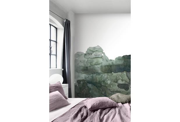 Rasch Digitaldrucktapete Young Artists Wandbild 100495 grün