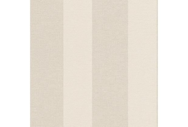 """Rasch Florentine, \""""Blockstreifen\"""", 448771, creme, beige"""