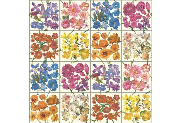 Rasch Heißpräge, Papier, Tapete Tiles & More XIV 303407