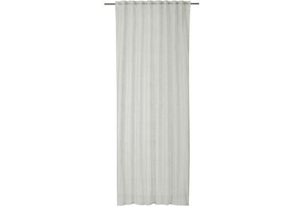 rasch home Gardine mit Schlaufenband Charisma ecru 140 x 255 cm