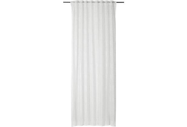 rasch home Gardine mit Schlaufenband Charisma offwhite 140 x 255 cm