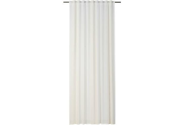 rasch home Gardine mit Schlaufenband Concept beige 140 x 255 cm