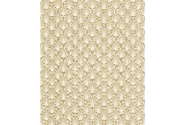 Rasch Tapete Art Nouveau 433609 Gold, Creme 0.53 x 10.05 m