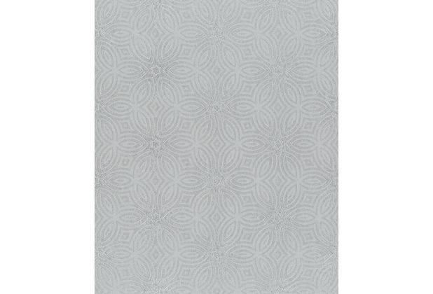 Rasch Tapete BERLIN 530520 Silber 0.53 x 10.05 m