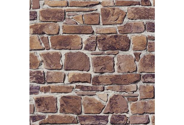 Rasch Tapete, braun, terrakotta 402612