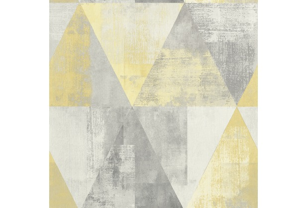 Rasch Tapete Hyde Park Muster 410921 Grau