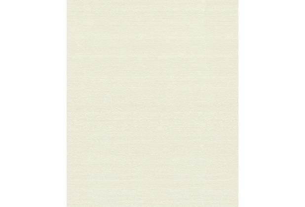 Rasch Tapete Mandalay Uni 528800 Weiß