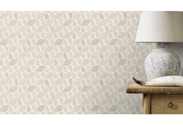 Rasch Tapete Modern Art 519808 Creme, Beige 0.53 x 10.05 m