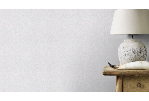 Rasch Tapete Modern Art 612226 Silber, Grau 0.53 x 10.05 m