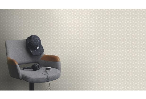Rasch Tapete Modern Art 621037 Weiß 0.53 x 10.05 m